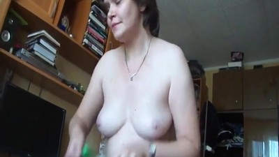 Russian wife sucks and fucks..