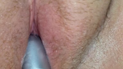 my pussy being played with