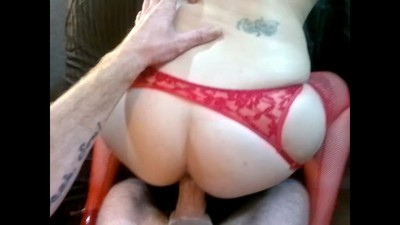 Slut In Red Get's Fucked..