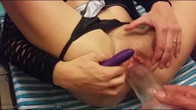 Filling my Pussy with..