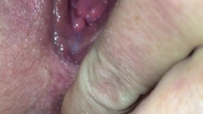 Wife fingering ass while..