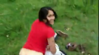 Indian couple outdoor fucking
