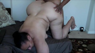 Mature big booty fucked good