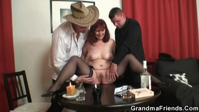 Threesome after poker with..