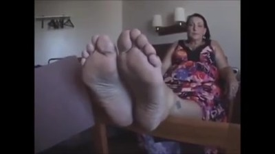 Cougar Soles Feet - 56 Years..