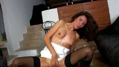 Young Spanish Slut Gets Her..