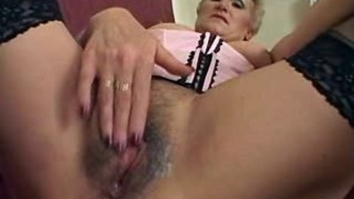 Granny gets fucked and..