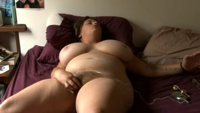 bbw girl with glass..