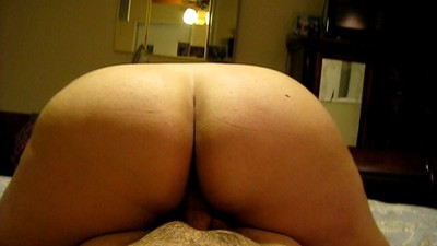 Wife's big white ass..