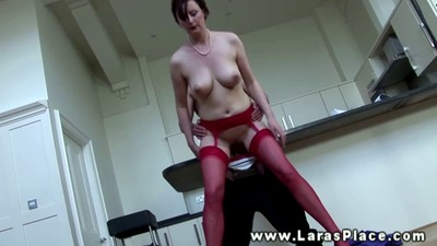 Mature stocking babe pussy..