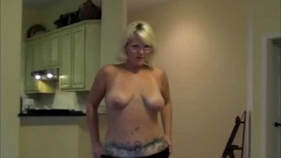 Blonde Milf Shows Her..