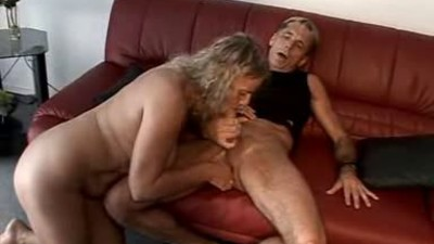 Horny mature couple having fun