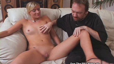 Acrobatic Blonde Wife Gets..