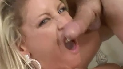 Threesome MILF Fuck with a..