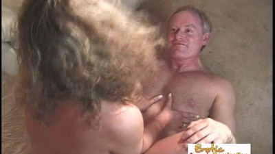 Mature Guy Cums Only After A..