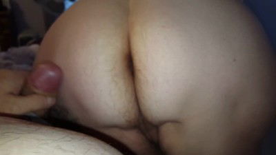 rubbing my hard cock on her..