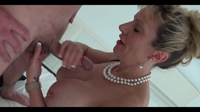 Mature Lady Wanking Cocks
