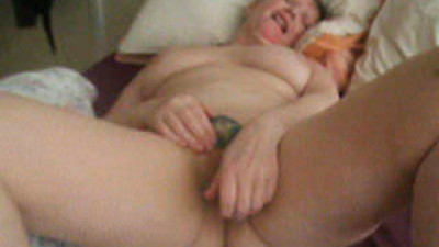 Mature Whore Masturbating..