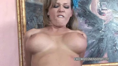 Horny slut Nikki Sexx is..