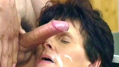 Grandma loves young cock and..
