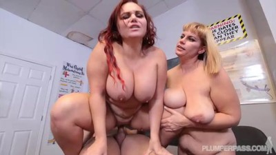 Busty Plump MILF gets..