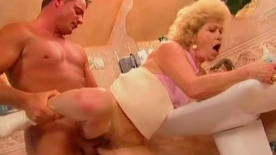 Granny Effie gets fucked in..