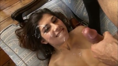 Sexy Teen Loves Facials