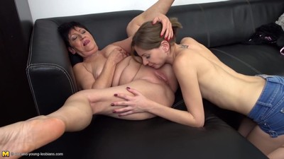 Granny makes taboo sex with..
