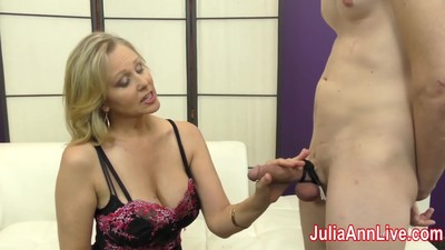 Milf Julia Ann Makes Slave..