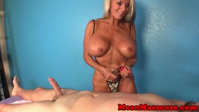 Mature masseuse Sally..