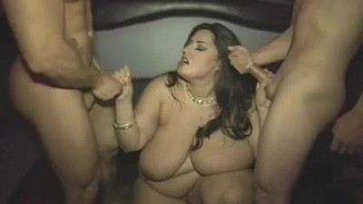 Mature fat girl with huge..