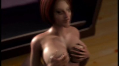 3D MILF gets a taste of the..