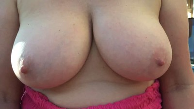 horny wifes bouncy boobs