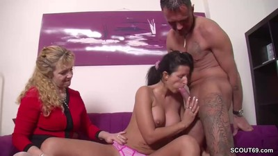 German MILF Seduce Young..