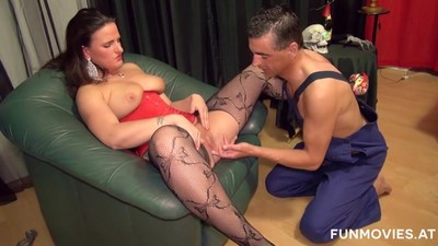 Curvy Cheating German Milf