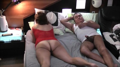 NATURAL ASIAN WIFE SUCK C...
