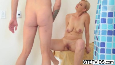 Fucking his stunning stepmom..