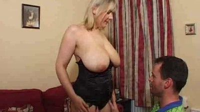 Mature blonde super big..