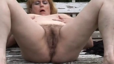 Chubby Mature With Hairy..