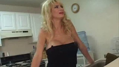 Blonde MILF  Sucks and Fucks