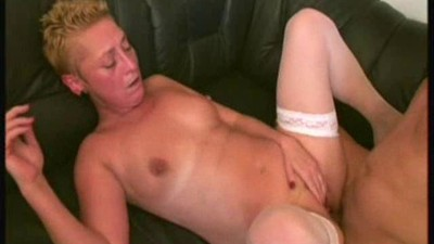 Mature in White Stockings..