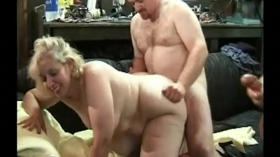 Blond BBW GangBangs A Bunch..